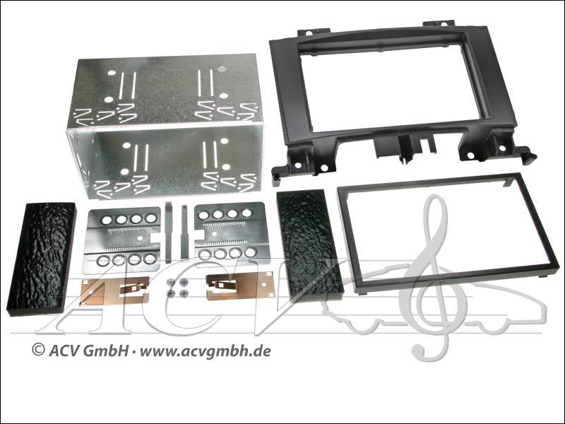 Double-DIN Installation Kit Mercedes Sprinter 2006 -> 2006 VW Crafter