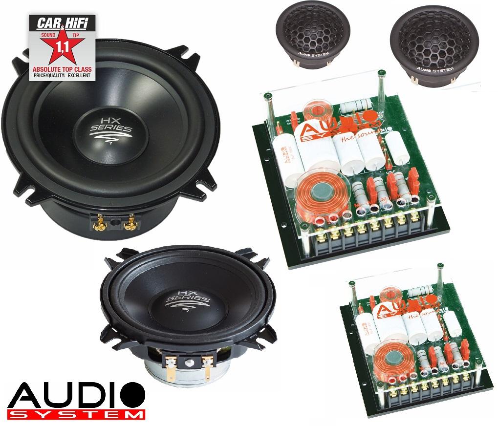Audio System HX 100 Dust EVO 2 HX-SERIES DUST 10 cm 2-Wege HIGH END Compo System
