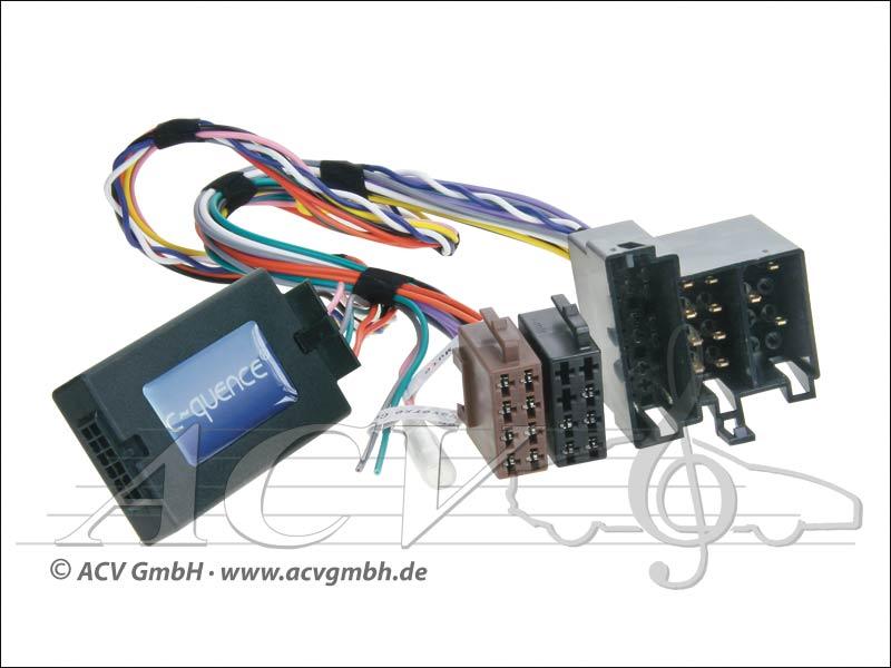 42-MC-503 CAN-Bus steering wheel adapter Mercedes Mini ISO -> Blaupunkt