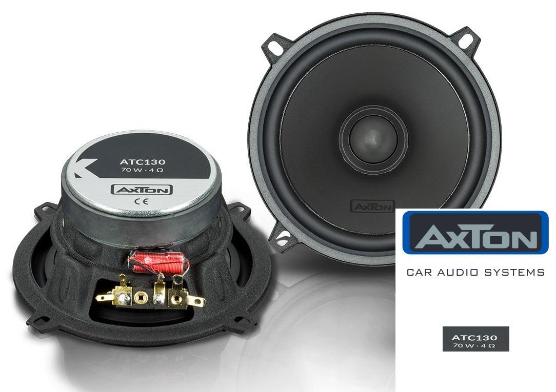 Axton ATC130-W Tief Mitteltöner Woofer Lautsprecher 13 cm / 130 mm -- 1 Paar