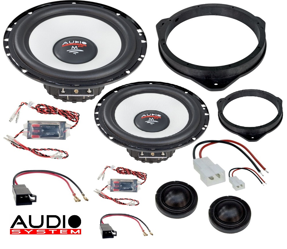 Audio System MFIT FIAT DUCATO EVO 2 Lautsprecher 2-Wege Front System 16,5cm FIAT DUCATO ab 2006