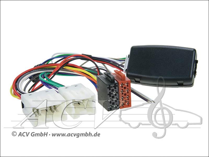 42-1214-700 Wheel Adapter Nissan 350Z/Navara/X-Trail-> Kenwood