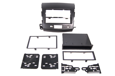 RTA 002.093-0 Multi-frame mounting kit with storage compartment, ABS black version