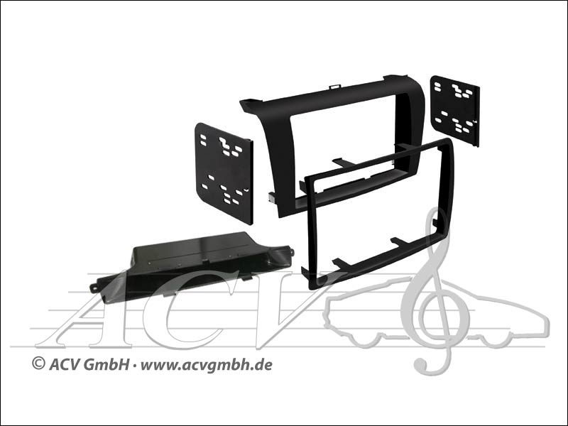 Double-DIN installation kit Mazda 3