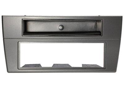 RTA 000.250-0 1- DIN Einbaurahmen, ABS 3-teilig grau lackiert JAGUAR X Type alle Modelle / 03 ->