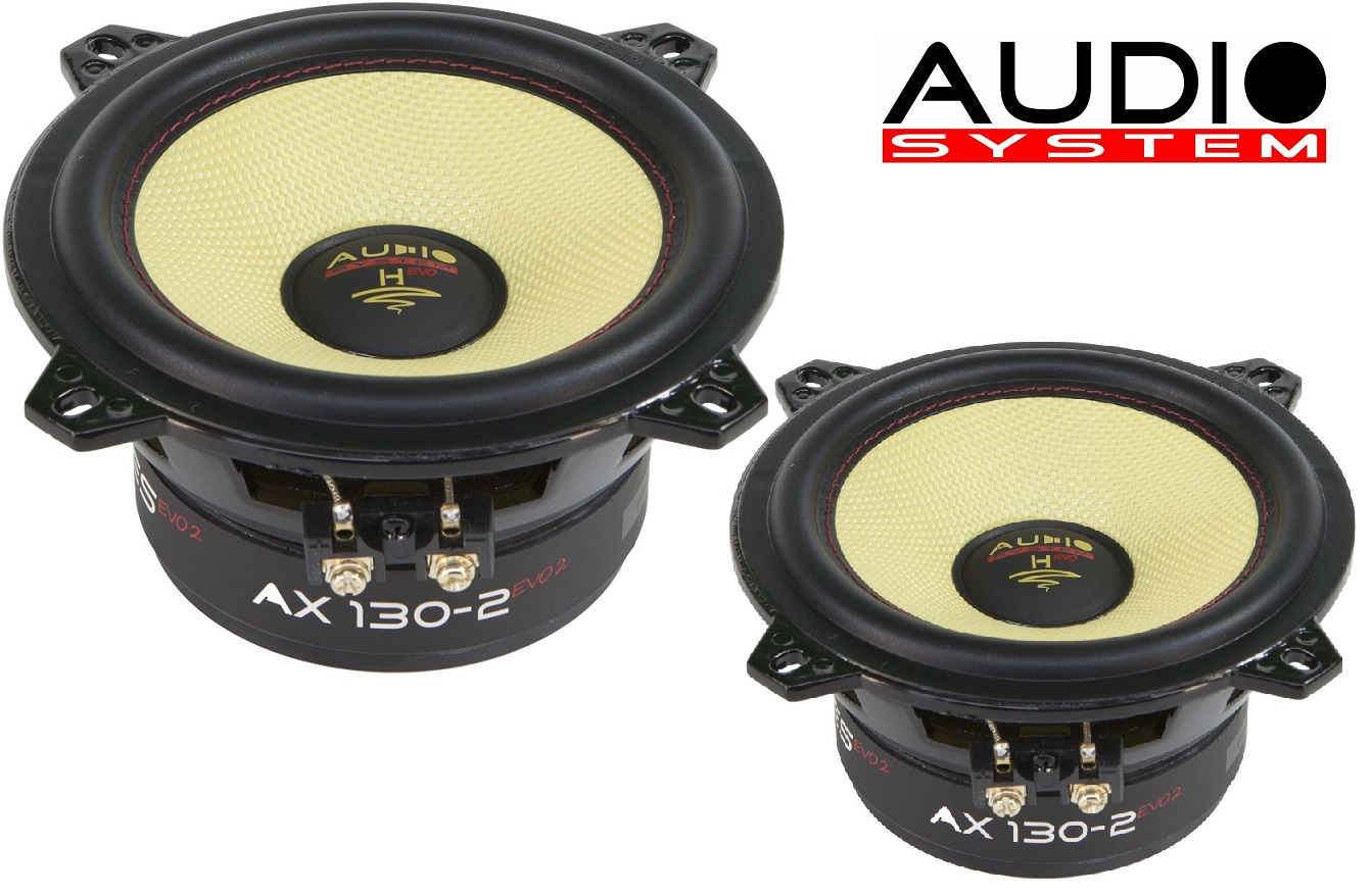 Audio System AX 130-2 EVO 2 Tief / Mitteltöner / Midrange Lautsprecher 13cm 1 Paar