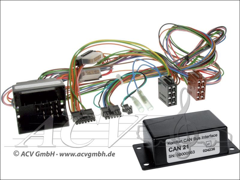 ACV 12-1324-00-57 VW CAN-BUS multi-funzione volante variocom