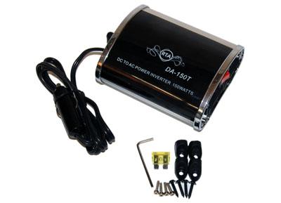 RTA 150.100-0 Spannungswandler 12V -> 230V - 150W mit Lüfter und überlastungsschutz