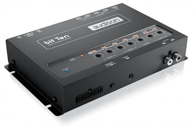 Audison bit Ten - 5-Kanal Soundprozessor bit Ten - SIGNAL INTERFACE PROCESSOR
