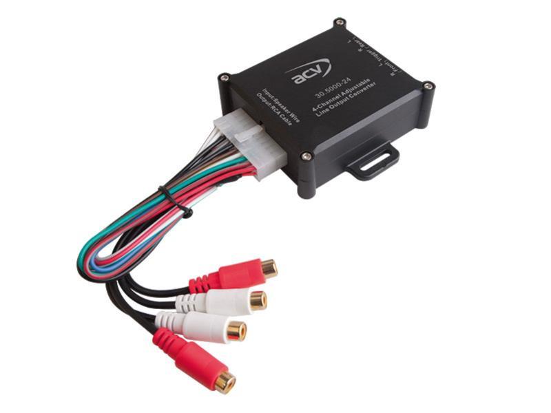 ACV 30.5000-24 Premium High-Level Adapter 4-Kanal mit Remote