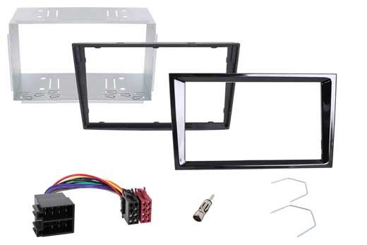 Radical R-D031 Montageset für R-D211 und Opel Einbausatz : Radioblende + Adapter