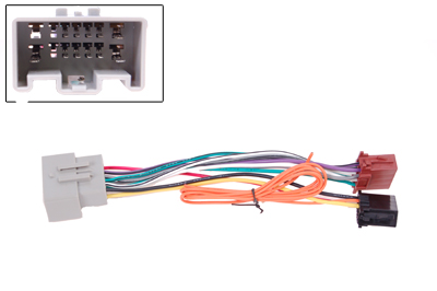 RTA 004.235-0 Adapter cable car specific wiring harness length: 185mm