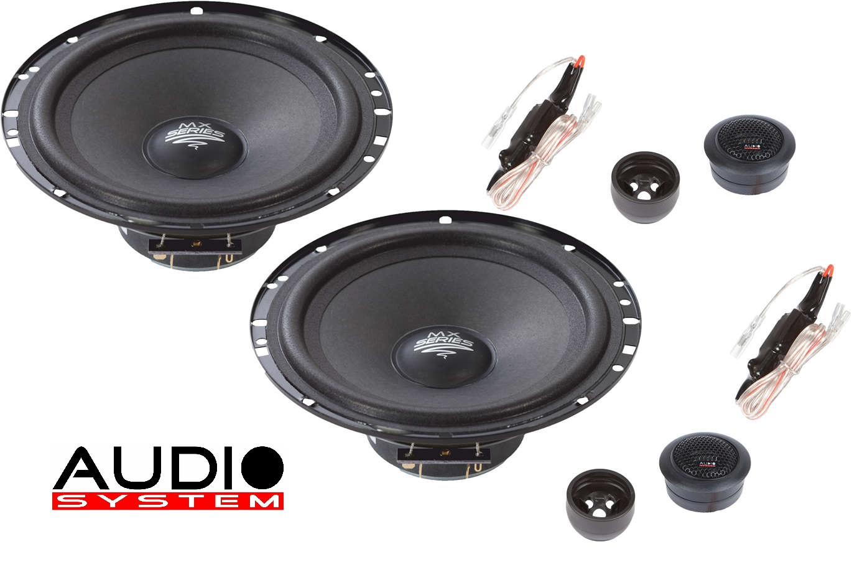 Audio System CO SERIES EVO Komplett-Set MX165 EVO : Verstärker + Subwoofer + Lautsprecher