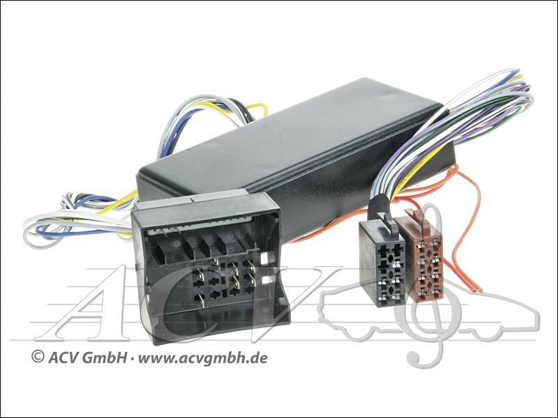 ACV 1324-50 adaptateur système Audi Active (BOSE)