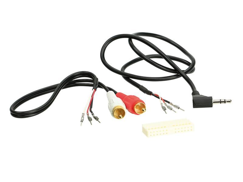 ACV 1424-24 OEM AUX socket BMW / Ford / VW Quadlock > aftermarket Radio