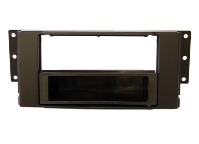 RTA 000.246-0 1 - DIN Telaio di montaggio, Nero ABS