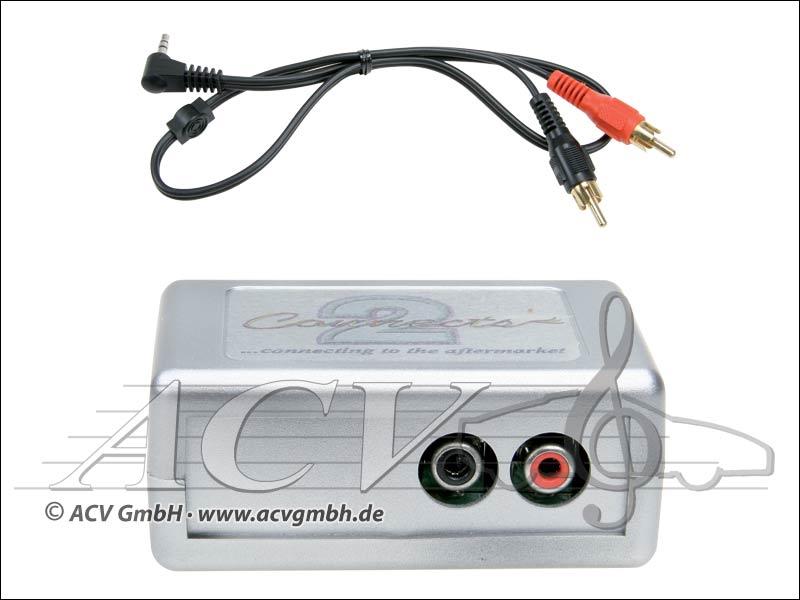 ACV 44VVGX004 VW (quadlock) Connects 2 AUX Adapter