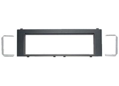 RTA 000.090-0 1 - montage sur rail DIN cadre, ABS noir, avec des crochets