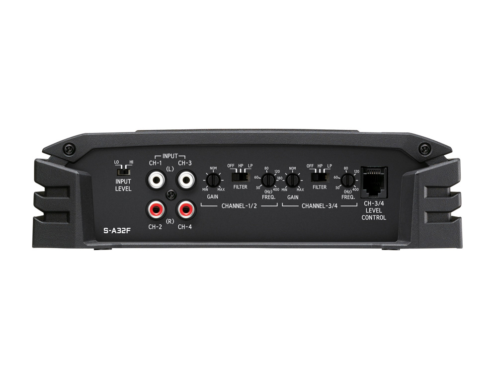 Alpine S-A32F 4-Kanal Digital-Verstärker - 4 x 80 Watt Amplifier