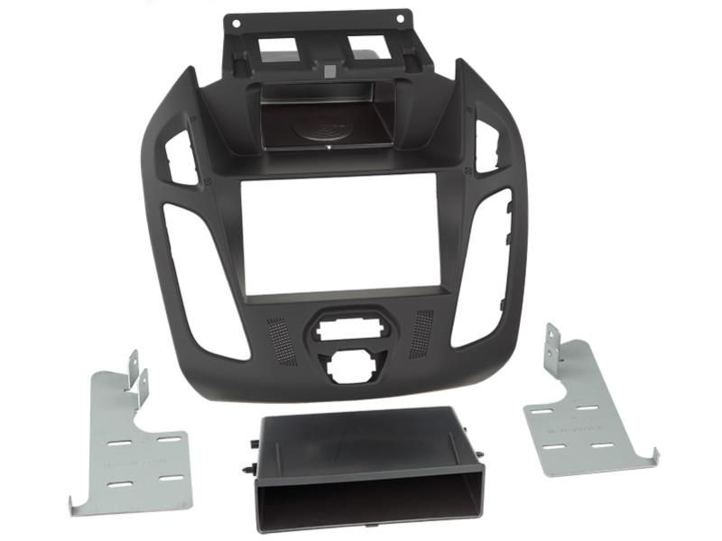 ACV 281114-27-2-4  2-DIN facia plate Ford Transit Connect 2012 > black