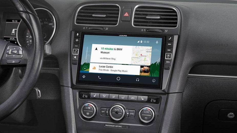 Alpine i902D-OC3 9-Zoll Premium-Mobile-Media-System für sKODA Octavia 3 mit Apple CarPlay und Android Auto Unterstützung