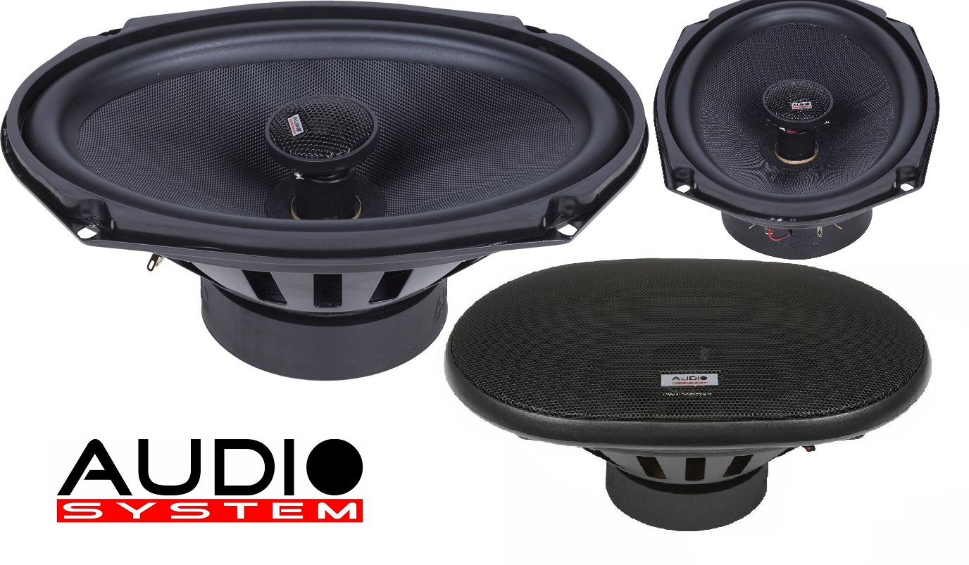 "AUDIO SYSTEM MXC 609 EVO 6x9"" Coaxial System Lautsprecher Speaker Koax 1 PAAR"