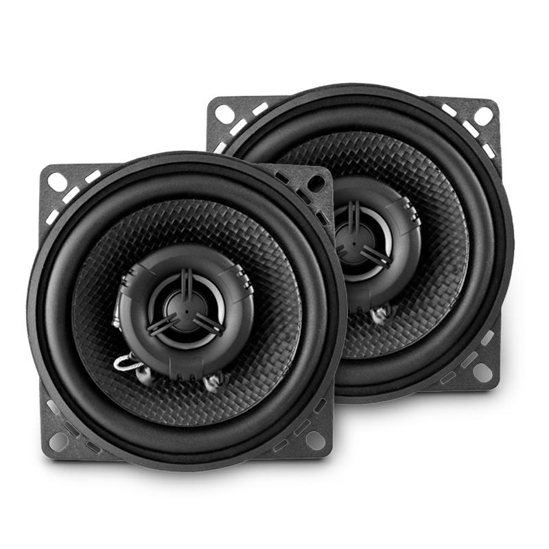 AMPIRE CP100 Koaxial-Lautsprecher ohne Gitter, 10cm (Paar) 80 Watt