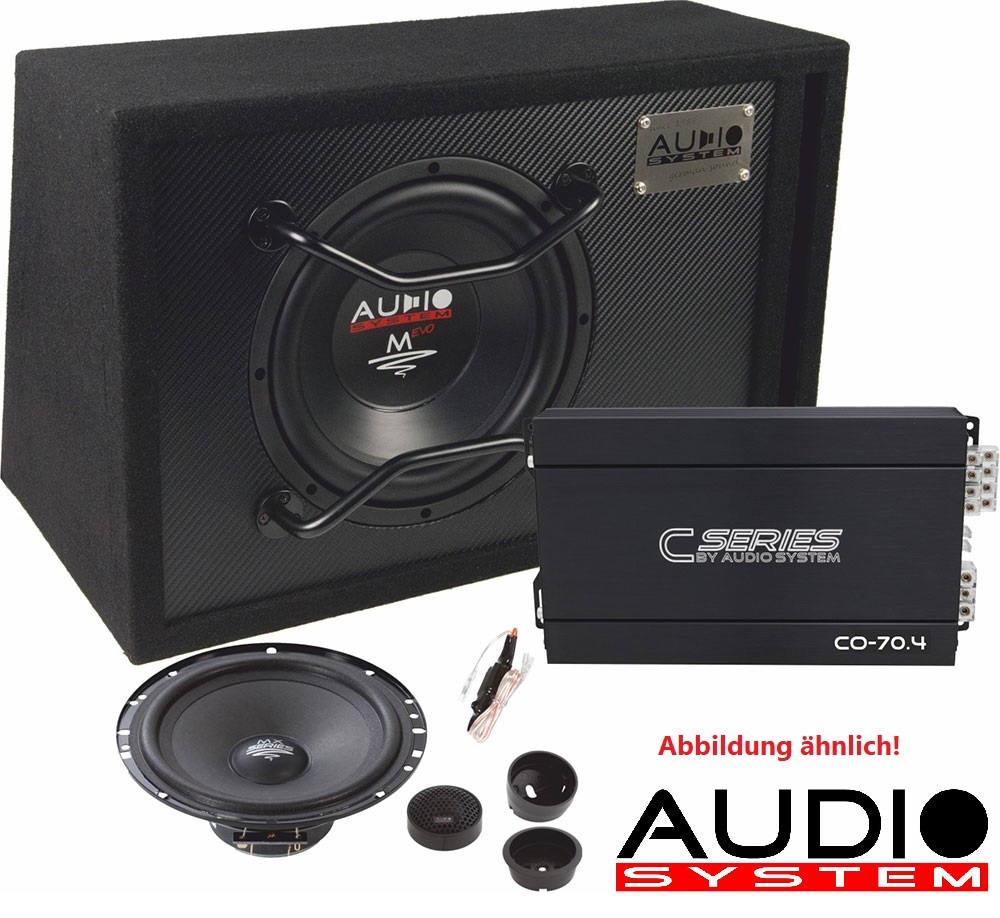 Audio System CO SERIES EVO Komplett-Set CO130 EVO : Verstärker + Subwoofer + Lautsprecher