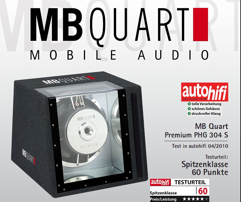 MB QUART PHG 304 S SINGLE BANDPASS 1000 Watt PHG304
