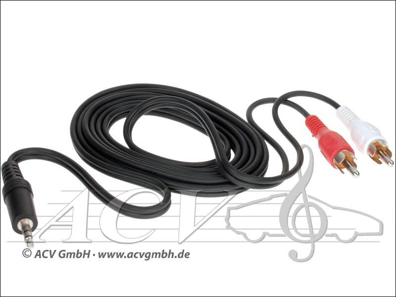 ACV 311490-02 Klinkenstecker auf Cinch