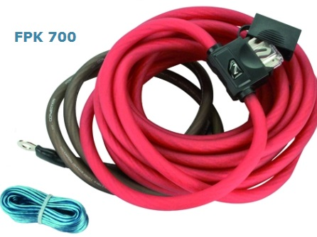 Connection Audison FPK 700 - 21,61 mm² Kabel-Set POWER KIT 700W 4AWG