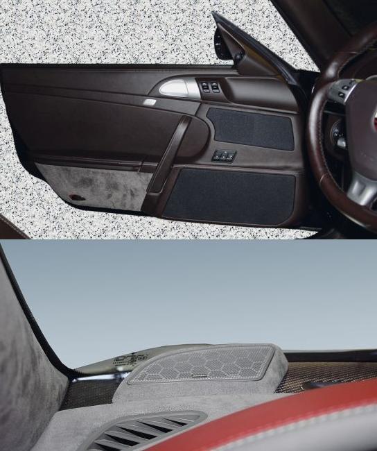 Jehnert Doorboard für Porsche 997 Coupe