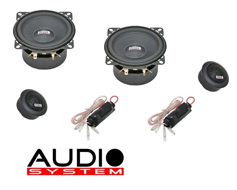 Audio System M 100 Plus 100mm, 2-Wege Composystem M100 Plus