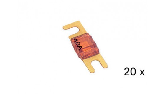 RTA 154.651-2 AFS plated fuses, 40A