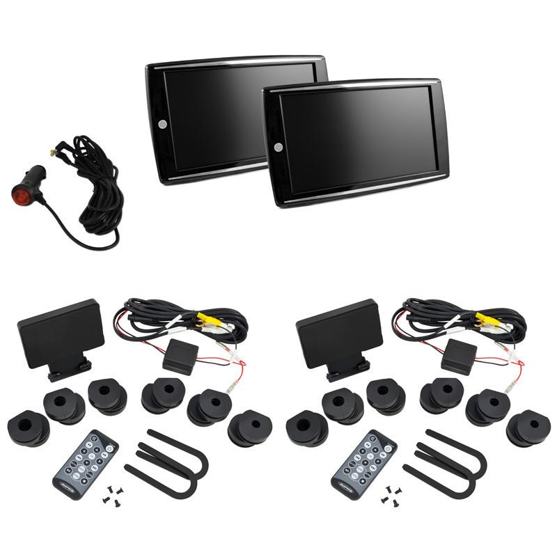 "AMPIRE AMX090-HD HD Monitor-Set 22.9cm (9"") mit IR-Sender (1 Paar)"
