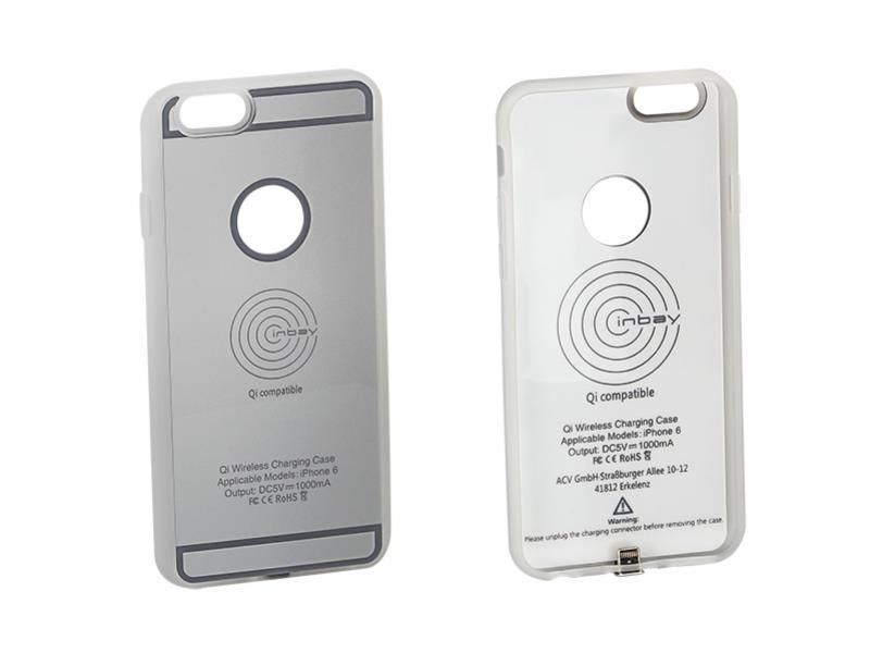 ACV 240000-21-01 Inbay® Ladeschale für iPhone 6/6S silber