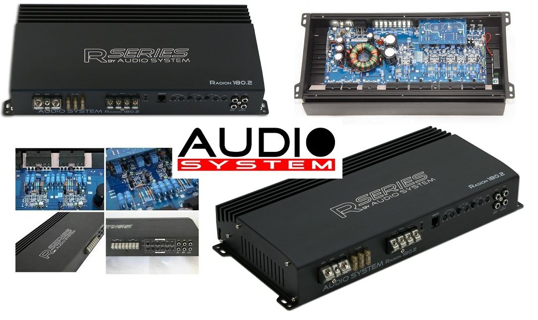 Audio System Radion 180.2 2-Kanal Verstärker RADION180.2
