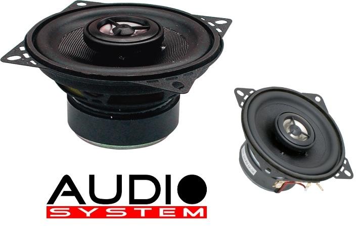 Audio System MXC 100 EVO 100 mm Coaxialsystem MXC100 Lautsprecher Speaker Koax 1 PAAR