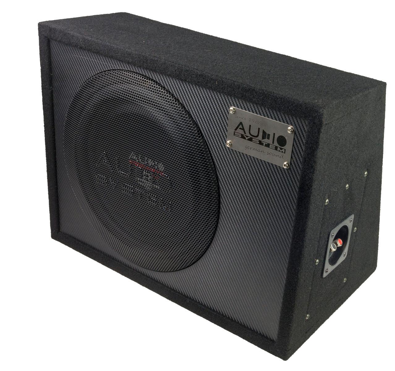 Audio System R 10 FLAT EVO G 25cm Subwoofer geschlossene Subwooferbox RADION SERIES EVO HIGH EFFICIENT