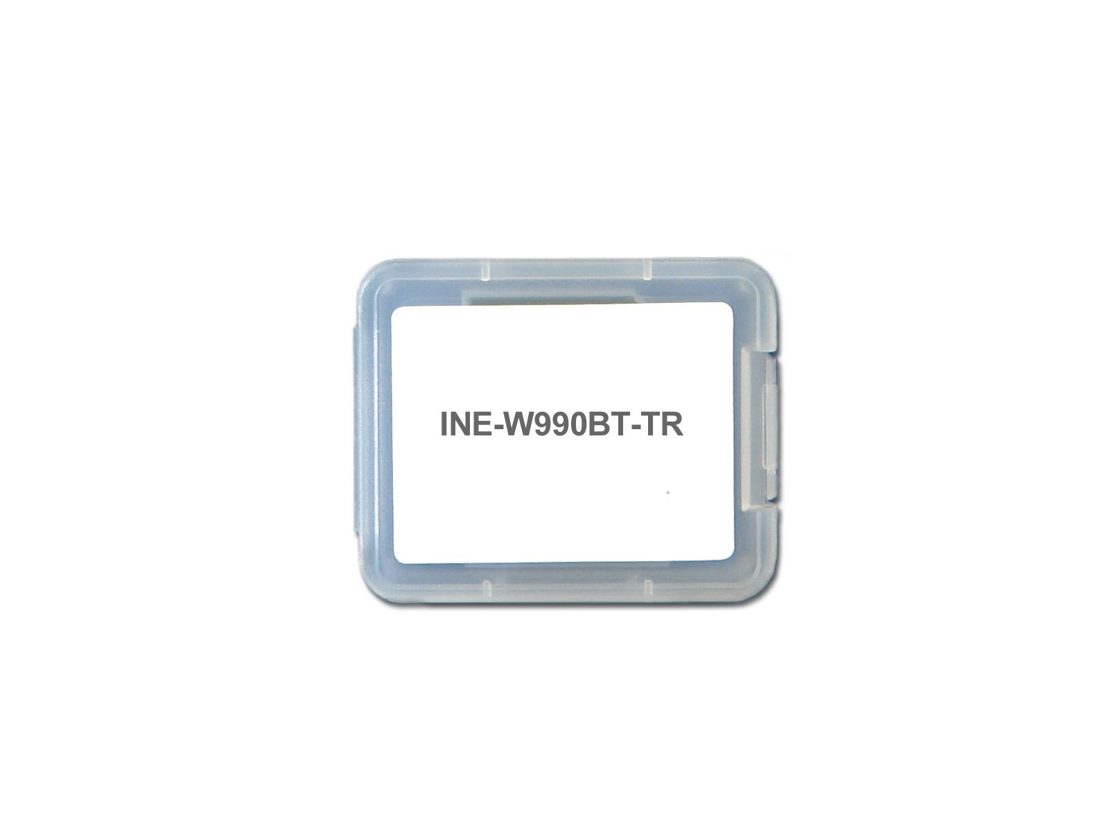 Alpine INE-W990BT-TR Camping, Caravan & LKW Software für INE-W990BT / INE-W990HDMI