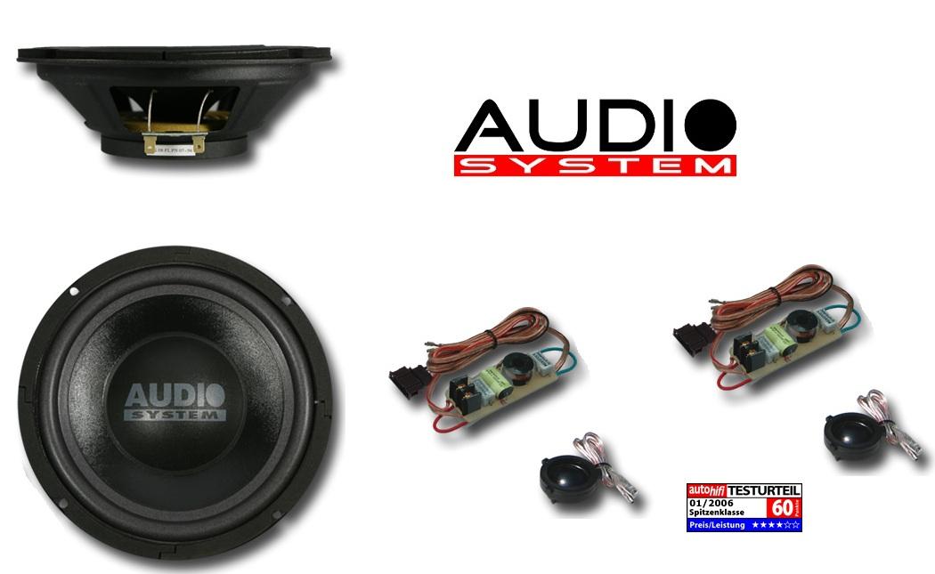 Audio System Xion 200 VW 20cm System VW GOLF IV, PASSAT, BORA
