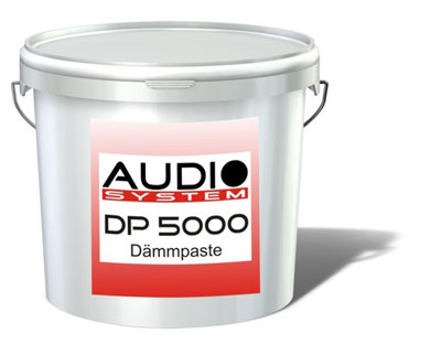 Audio System Dämmpaste DP 5000 (5 kg / 1 kg = 16,- €) DP500