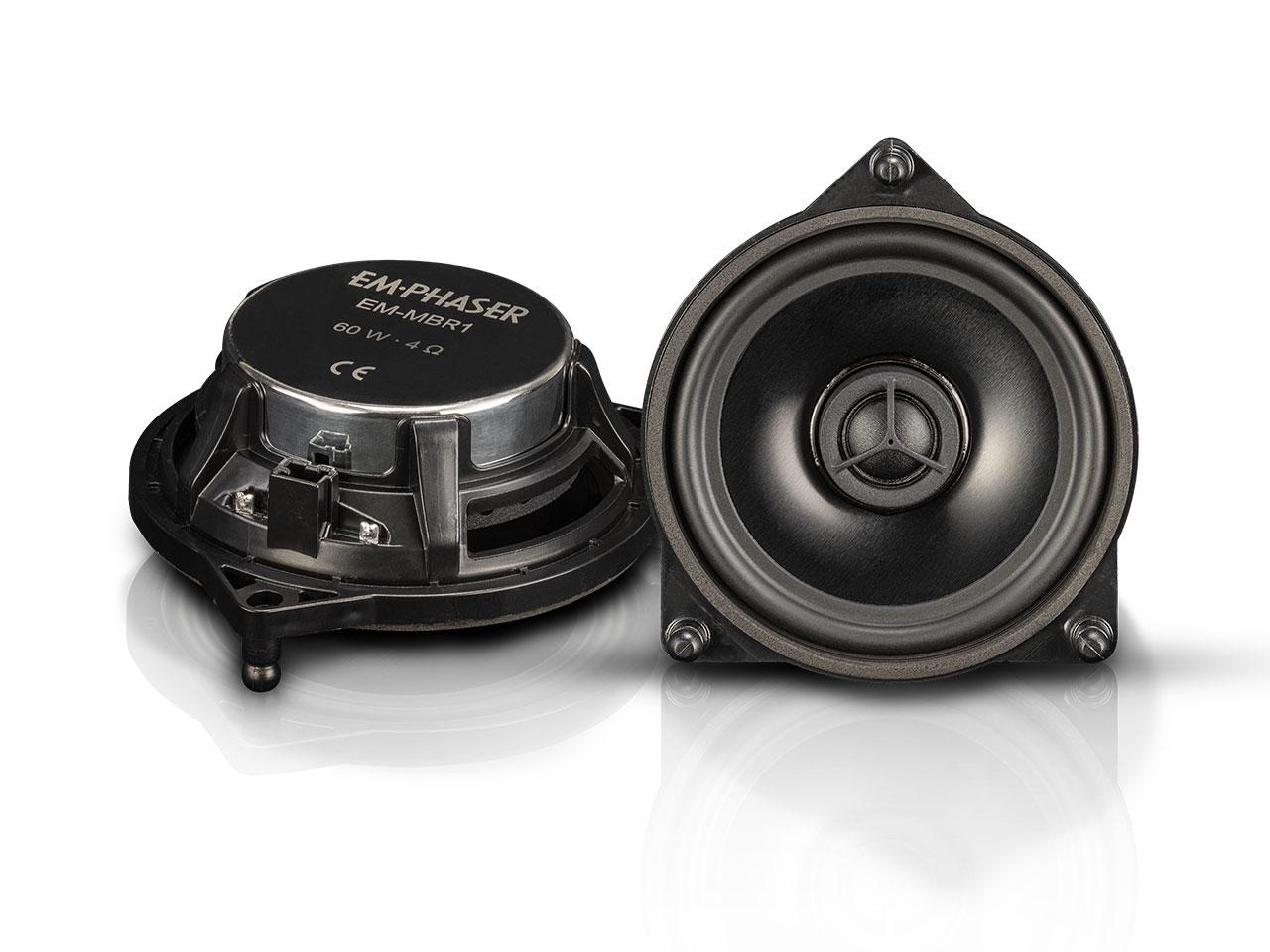 EMPHASER EM-MBR1 Plug & Play Koaxialsystem für Mercedes-Benz W205, C205, A205, X253, C253, W213, S213, C238, A238, W222