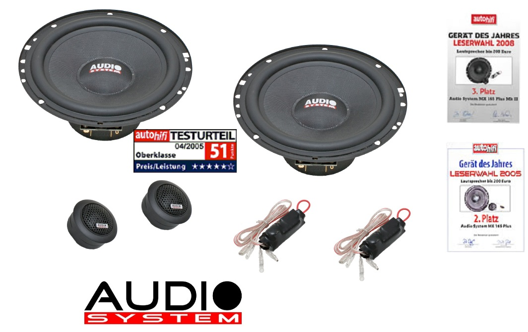 Audio System MX 165 Plus 165mm, 2-Wege Composystem MX165Plus