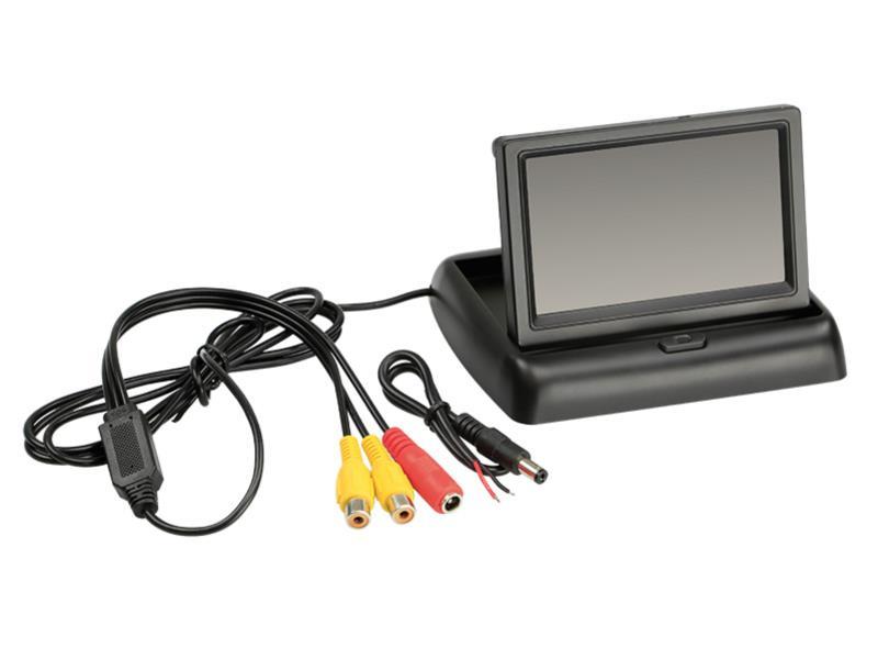 """ACV 771000-6220 4.3 """" folding monitor universal 16 : 9 ( 1 RFK + 1 AV input )"""