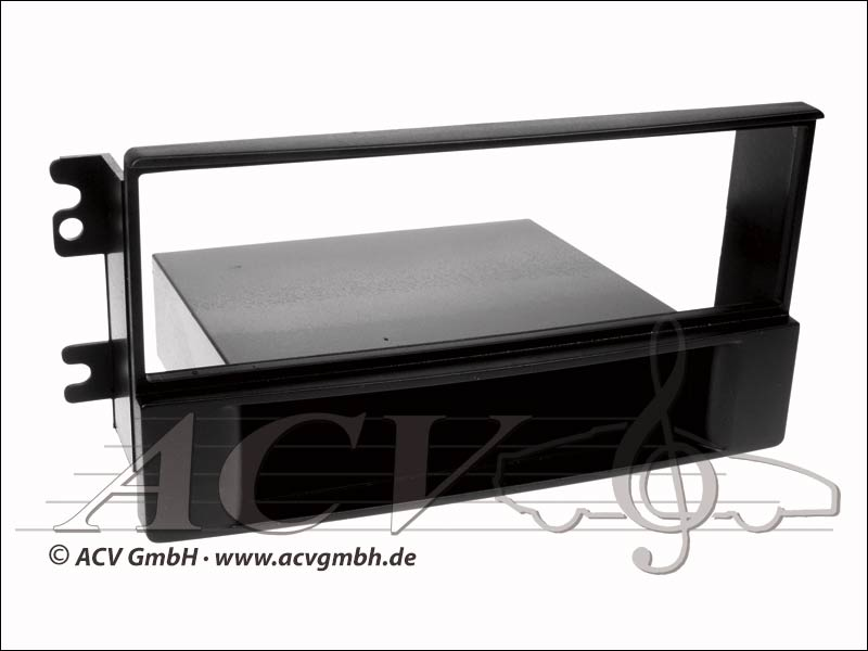Kia Sportage II lunette noire radio