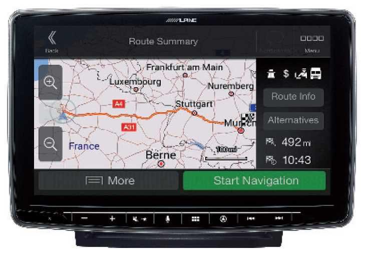 Alpine INE-F904DU All in One Navigation für Fiat Ducato 3, Peugot Boxer 2, Citroen Jumper 2