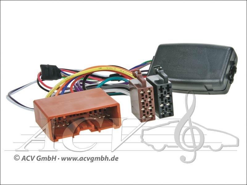 ACV 42-1173-500 Wheel Adapter Mazda from Bj.03 -> Blaupunkt