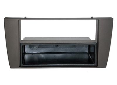 RTA 001.250-0 2 - DIN mounting frame, Black ABS