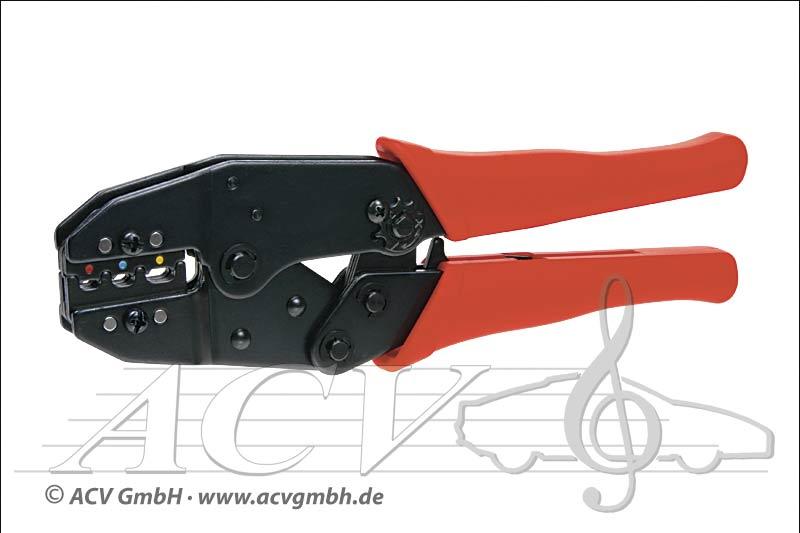 ACV 379040 Crimpzange für isolierte Steckverbinder Klemmber